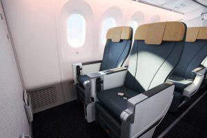 Premium economy na palubě Boiengu 787-9 společnosti Vistara. Foto: Vistara