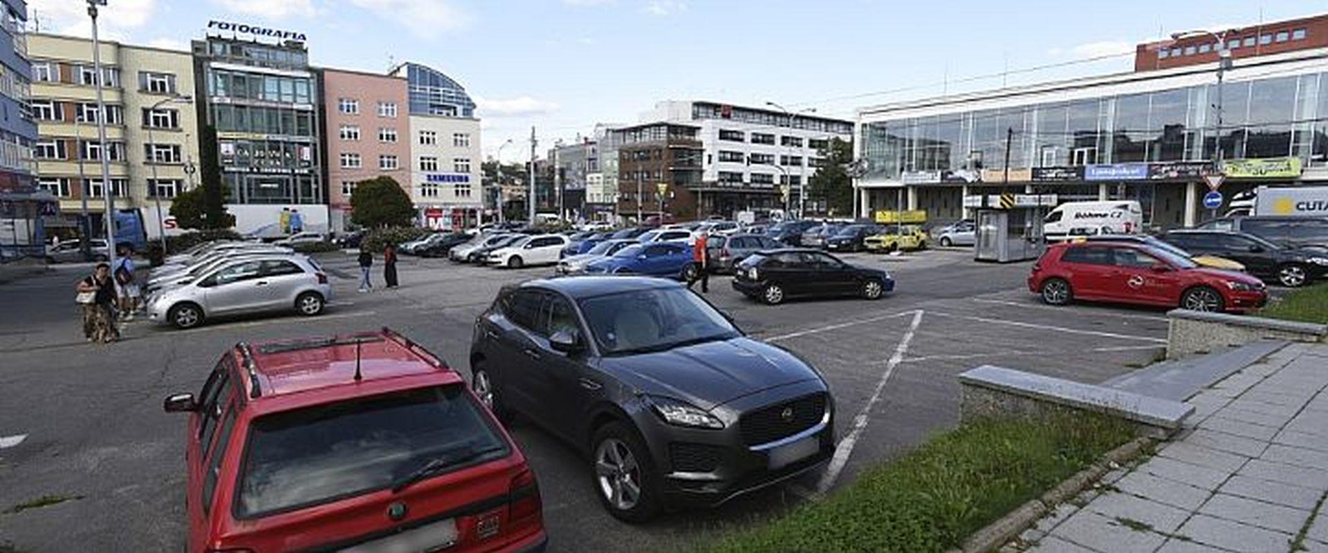 Parkování ve Zlíně. Foto: Zlin.eu