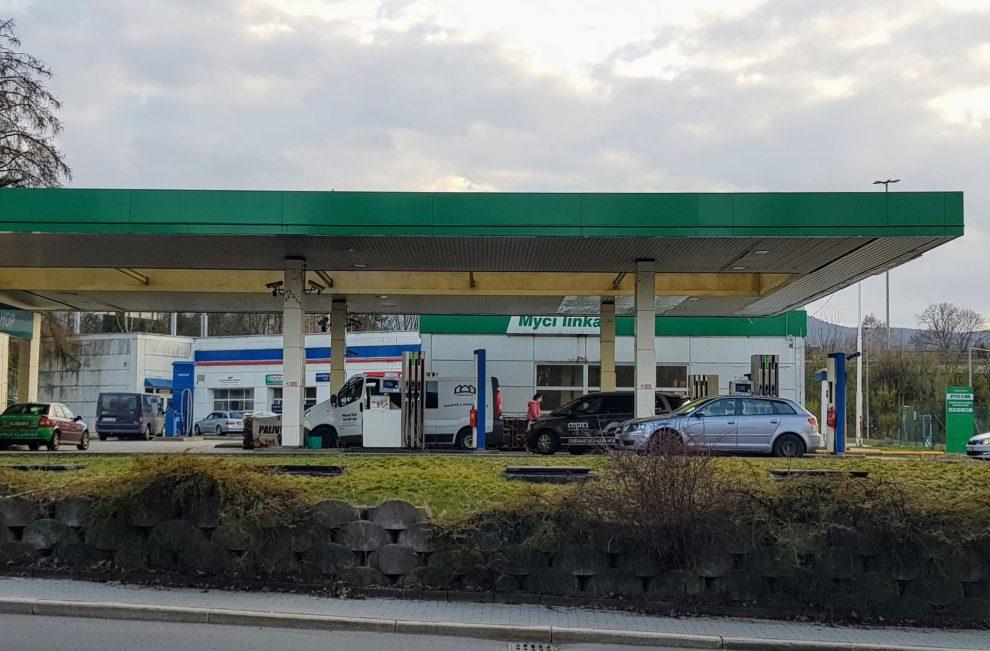 Čerpací stanice. Ilustrační foto: Zdopravy.cz / Jan Sůra