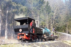 Achenseebahn. Pramen: Achenseebahn
