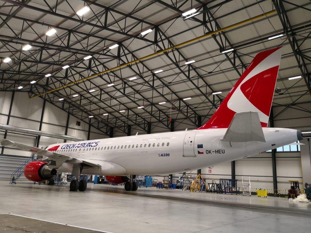 Airbus A320 Českých aerolinií. Foto: Aircraft Livery