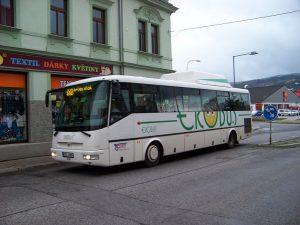 Autobus ČSAD Česká Lípa v Chrastavě. Foto: ŠJů / Wikimedia Commons