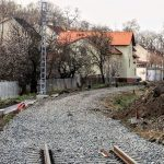 Stanice Hustopeče, koleje budou kvůli záplavovému území až o metr výš. Pramen: Správa železnic