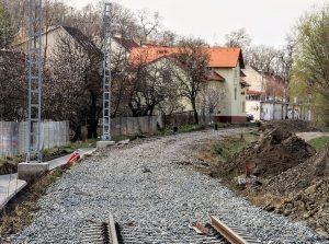 Elektrizace trati Šakvice - Hustopeče u Brna. Pramen: Správa železnic