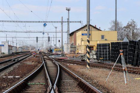Stanice Šakvice. Pramen: Správa železnic