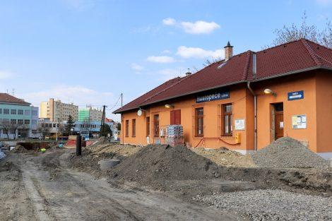 Stanice Hustopeče dostane nová nástupiště. Pramen: Správa železnic