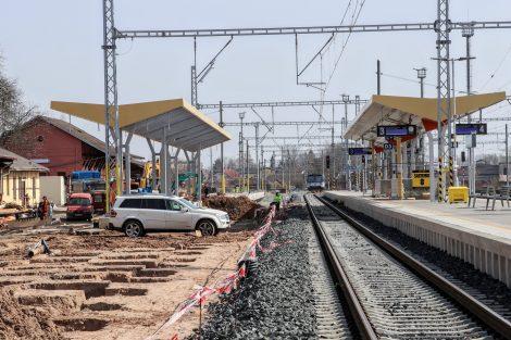 Stanice Jaroměř. Pramen: FB Správa železnic