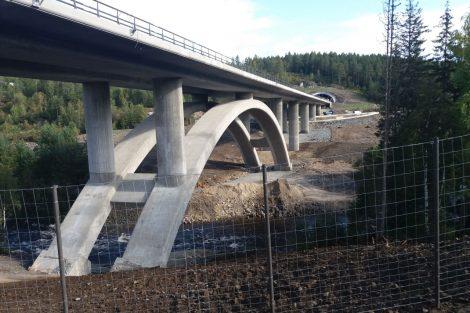 Most přes Åstfjorden v Norsku. Pramen: Metrostav a.s.