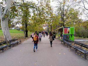 Vrchlického sady (Sherwood). Pramen: IPR Praha