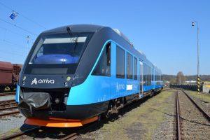 Jednotka Alstom Coradia Lint v barvách Arrivy. Foto: Arriva vlaky