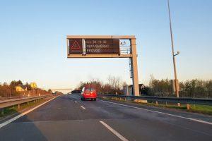 Silnice I/35 mezi Libercem a Chrastavou u Bedřichovky. Foto: Zdopravy.cz / Jan Sůra
