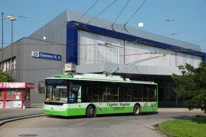 Trolejbus Bogdan při schvalování v Ostravě. Foto: Libor Hinčica / Československý dopravák