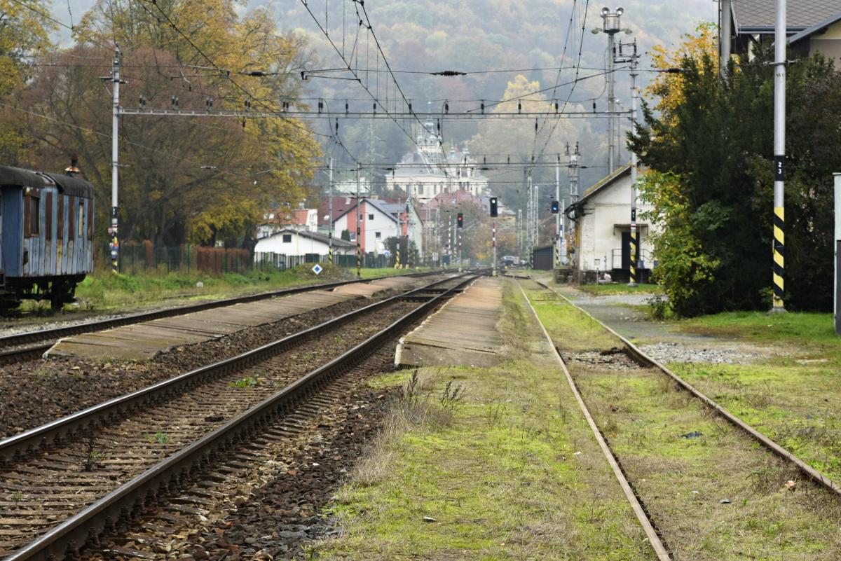 Trať Ústí nad Labem-Střekov - Velké Březno. Pramen: Správa železnic
