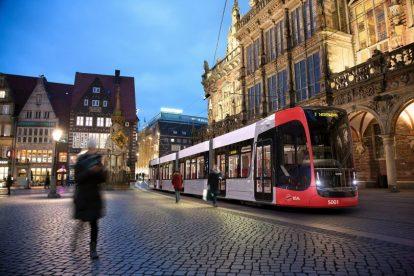 Vizualizace tramvaje Siemens Avenio pro Brémy. Foto: Siemens