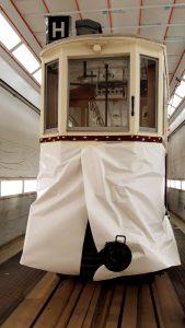 Historická tramvaj číslo 107 DPMB. Pramen: DPMB