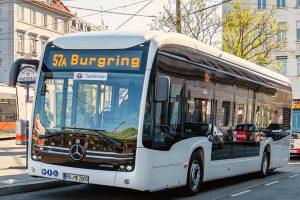 Dopravní podnik Wiener Linien začal s testy elektrobusu Mercedes eCitaro. Pramen: Wiener Linien