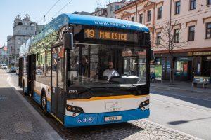 Trolejbus Ekova Electron 12T v Plzni. Foto: PMDP