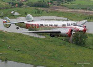 Letoun Lockheed Electra 10A. Foto: Letiště Točná