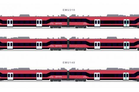 Nové vlaky pro Jihomoravský kraj, varianta 3