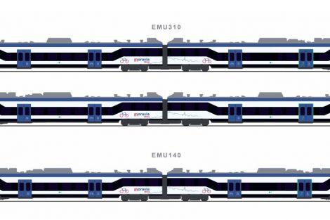 Nové vlaky pro Jihomoravský kraj, varianta 2