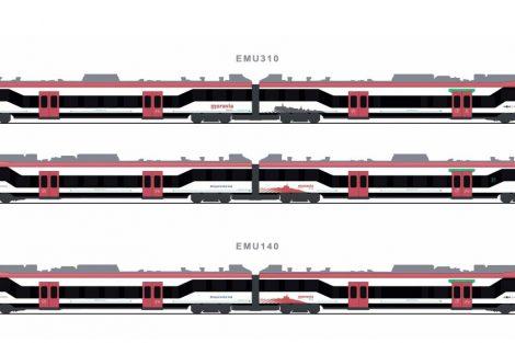 Nové vlaky pro Jihomoravský kraj, varianta 4