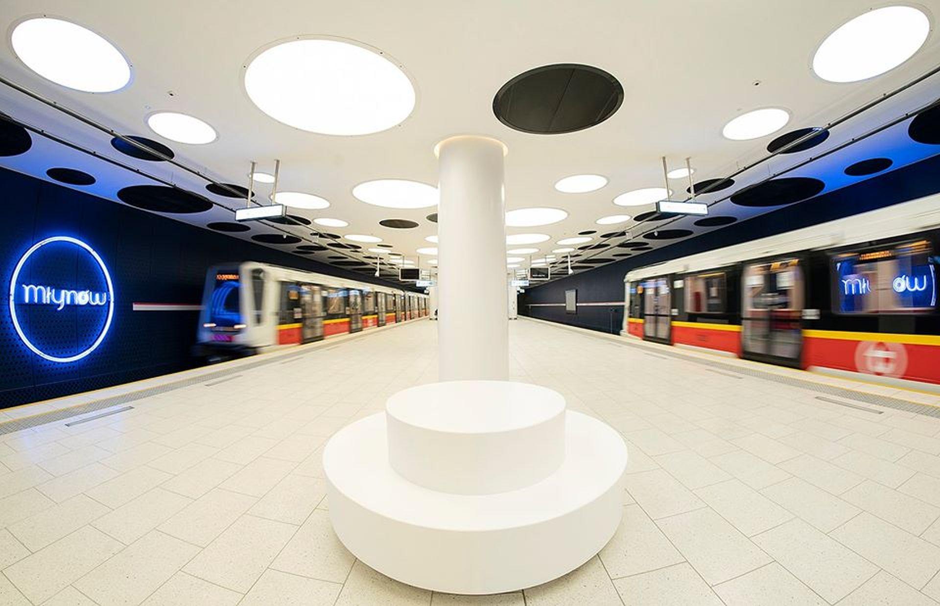 Nové stanice metra na lince M3 ve Varšavě. Foto: Metro Warsawskie