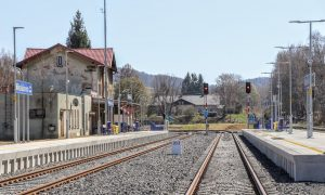Stanice Mikulášovice dolní nádraží po modernizaci. Foto: Správa železnic
