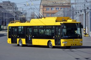 Trolejbus Škoda 30 Tr pro Mariánské Lázně. Foto: FB Martina Kaliny