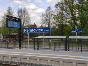 Nová zastávka Neratovice sídliště