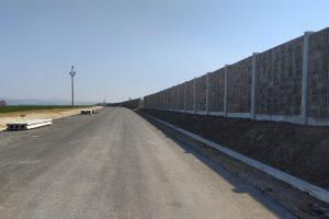 Stavba obchvatu Opočna. Foto: Královéhradecký kraj