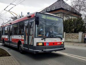 Trolejbus Škoda 21 Tr v Brně. Foto: Zdopravy.cz / Jan Sůra