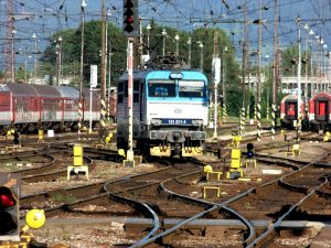 Železniční uzel Žilina. Foto: Pixabay.com