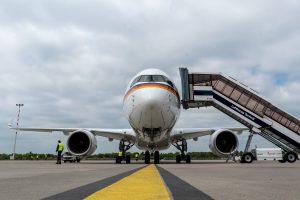 Nový ACJ 350-900 XWB pro Luftwaffe. Foto: Lufthansa Technik