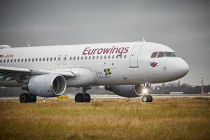 Airbus A320 společnost Eurowings. Foto: Eurowings