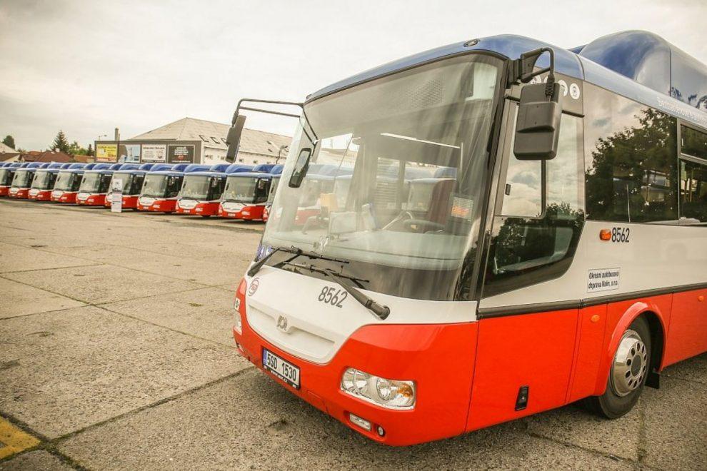 Nové autobusy SOR na plyn pro OAD Kolín. Pramen: OAD Kolín