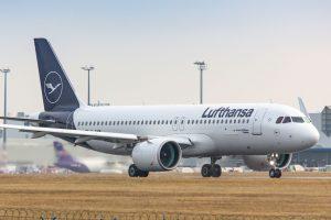 Airbus A320neo společnosti Lufthansa v Praze. Foto: Rosťa Kopecký / Flyrosta.com