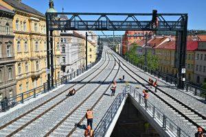 Negrelliho viadukt. Pramen: Twitter Karla Havlíčka