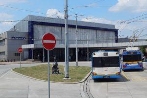 Konečná trolejbusů Ostrava hl. n. Autor: Zdopravy.cz/Jan Šindelář