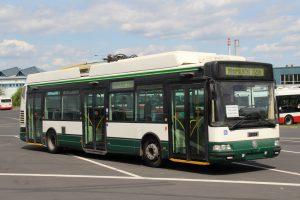 Trolejbus Škoda 24 Tr z Plzně, který koupil Dopravní podnik hl. m. Prahy. Foto: DPP