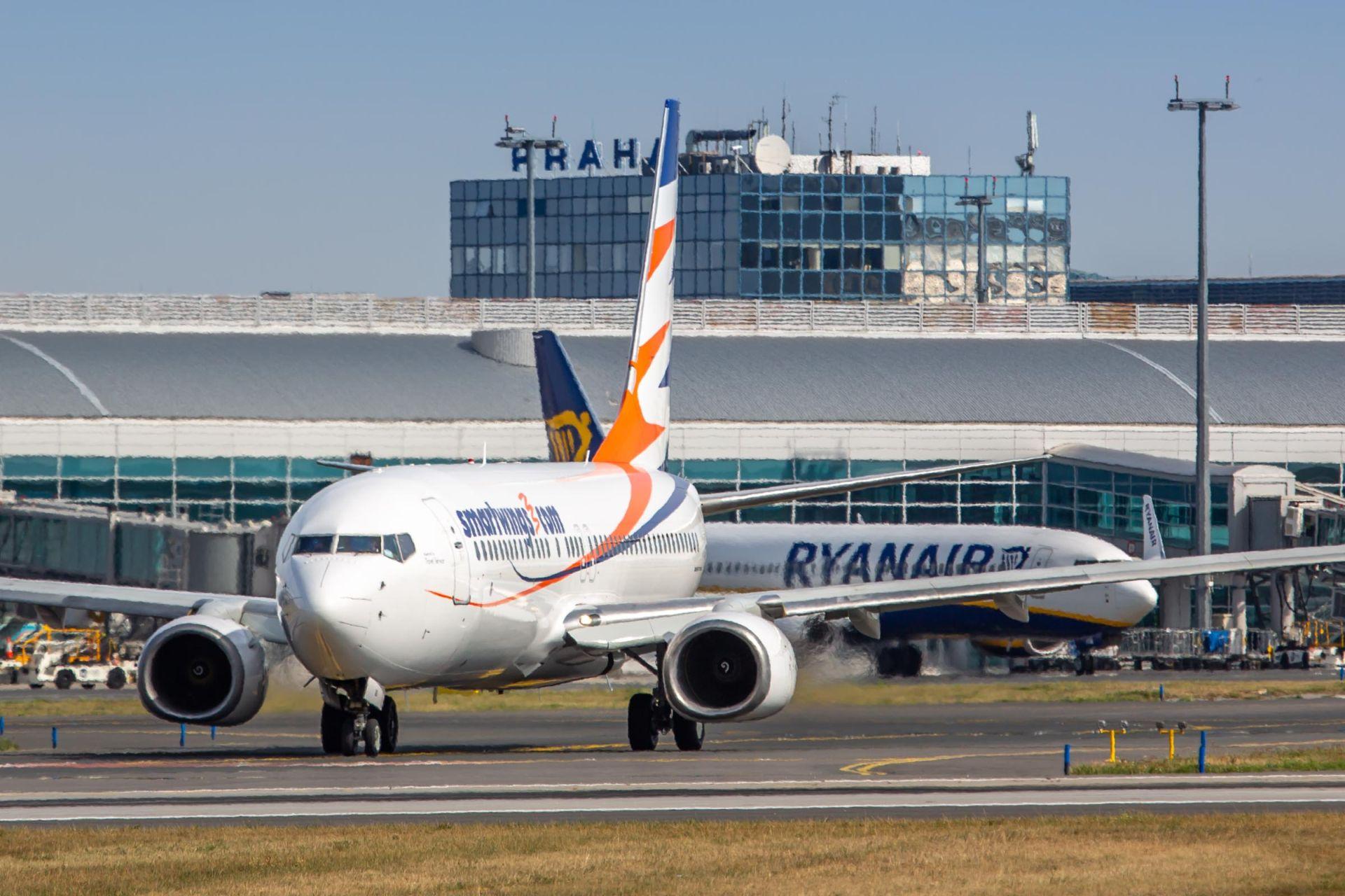 Boeing 737-800 společnosti Smartwings v Praze. Foto: Rosťa Kopecký / Flyrosta.com
