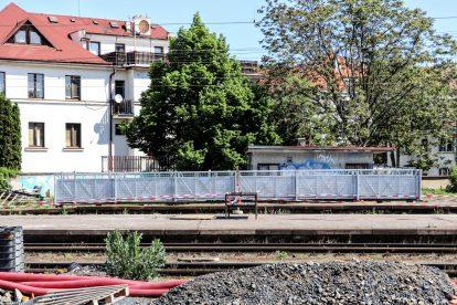 Nádraží Vršovice se modernizuje. Pramen: Správa železnic