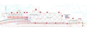 Schéma výpravní budovy Pardubice hl.n. Pramen: Správa železnic/web M. Kolovratníka