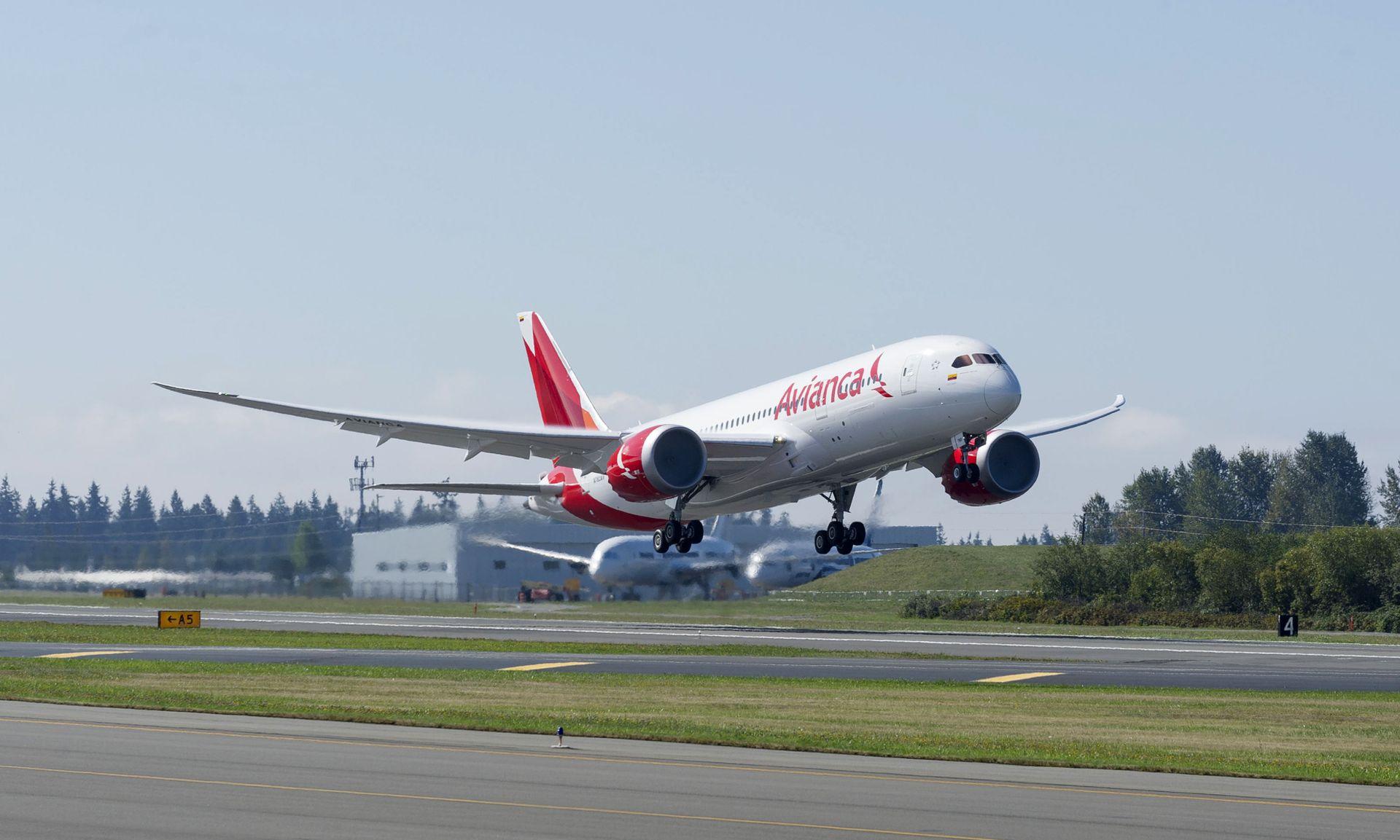 Boeing 787-8 v barvách kolumbijské společnosti Avianca. Foto: Boeing