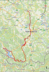 Vltavská cyklostezka. Pramen: Jihočeský kraj