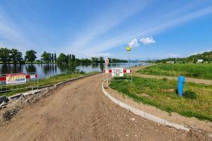 Stavba cyklostezky v Ústeckém kraji. Foto: Ústecký kraj