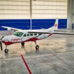 Cessna 208B Grand Caravan přestavěná na elektrický pohon. Foto: MagniX