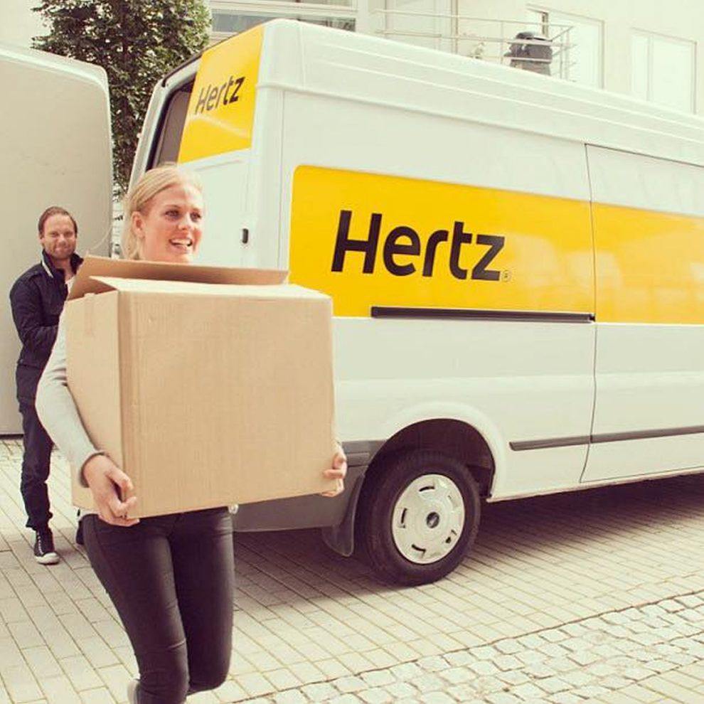 Vozidlo autopůjčovny Hertz. Foto: Hertz