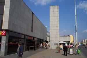 Stanice metra Nádraží Holešovice. Autor: User:Aktron – Fotografie je vlastním dílem, CC BY-SA 3.0, https://commons.wikimedia.org/w/index.php?curid=756197