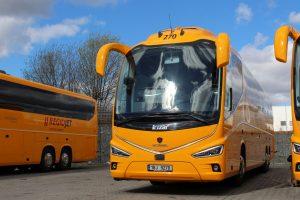 Regiojet a jeho autobusy Irizar i8. Foto: RegioJet