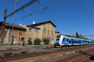 Železniční stanice Krupka - Bohusodov. Foto: Správa železnic